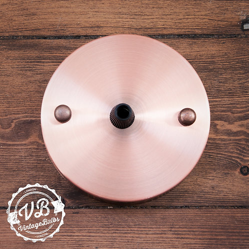 Metal Ceiling Rose #01 - Antique Copper