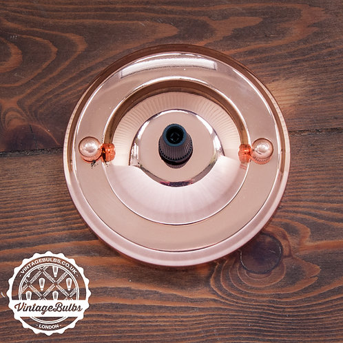 Metal Ceiling Rose #02 - Copper