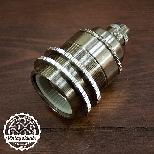Metal Lamp Holder #02 (E27) - Nickel