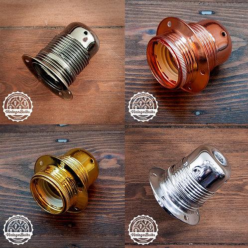 Metal Lamp Holder #01 (E27)