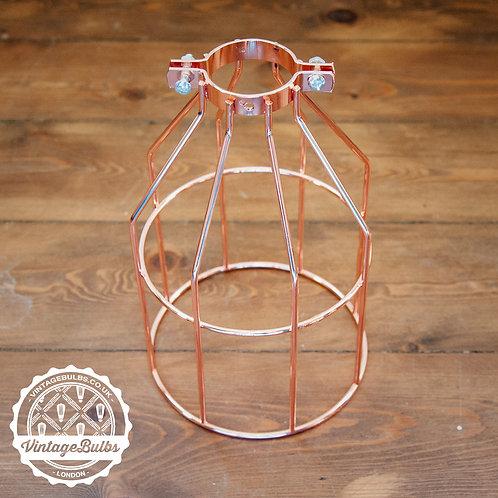 Metal Cage / Lamp Guard - Copper