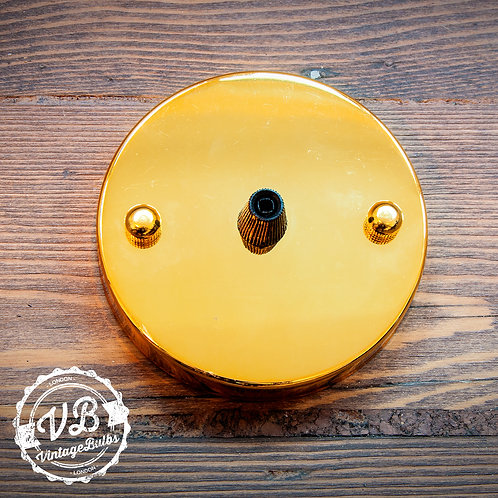 Metal Ceiling Rose #01 - Gold