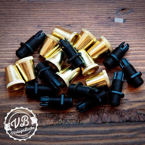 Metal Cord Grip #01 - Brass