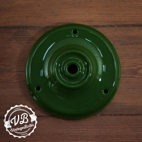 Ceramic Porcelain Ceiling Rose - Green