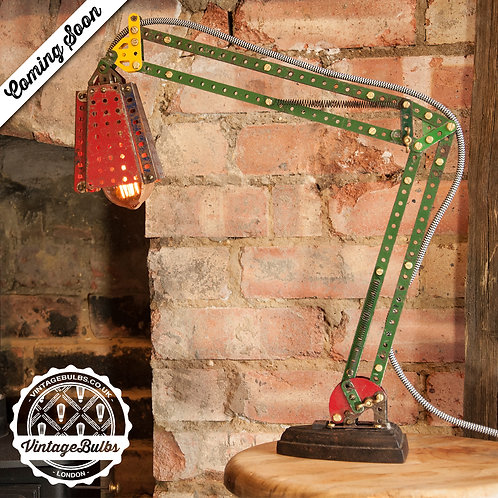 Desk Lamp - Vintage Meccano