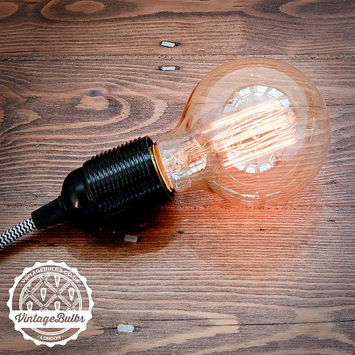 LARGE GLOBE BULB - SQUIRREL CAGE
