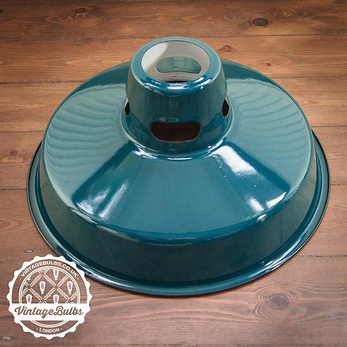 Industrial Retro Lamp Shade - Dark Green