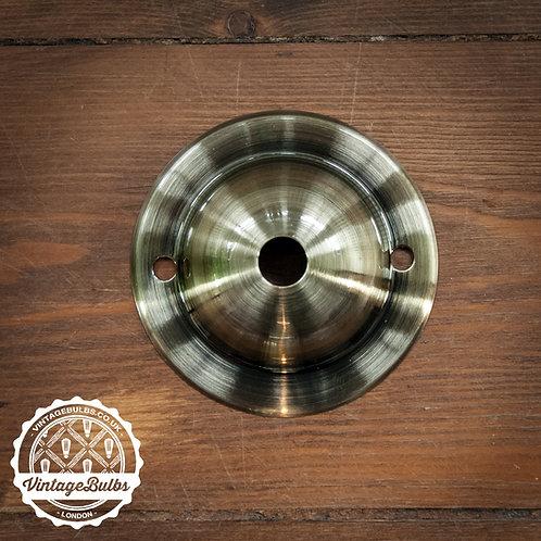 Mini Ceiling Rose #03 - Antique Brass
