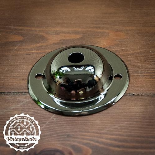Mini Metal Ceiling Rose #03 - Pearl Black