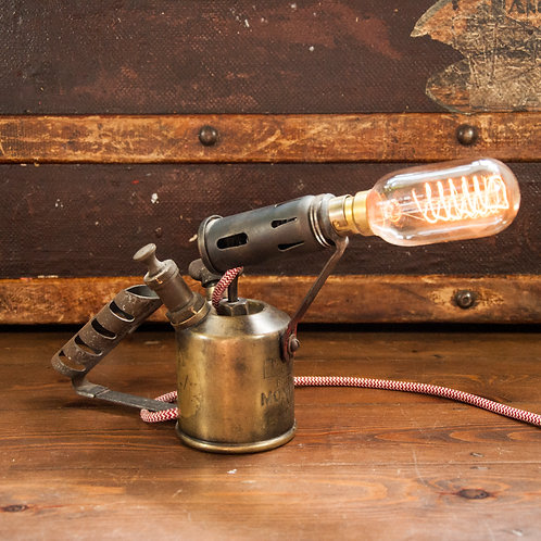 Vintage Torch Lamp - With Dimmer Switch