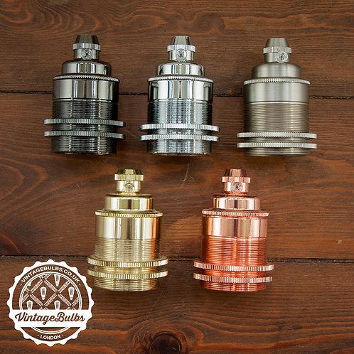 Metal Lamp Holder #02 (E27)