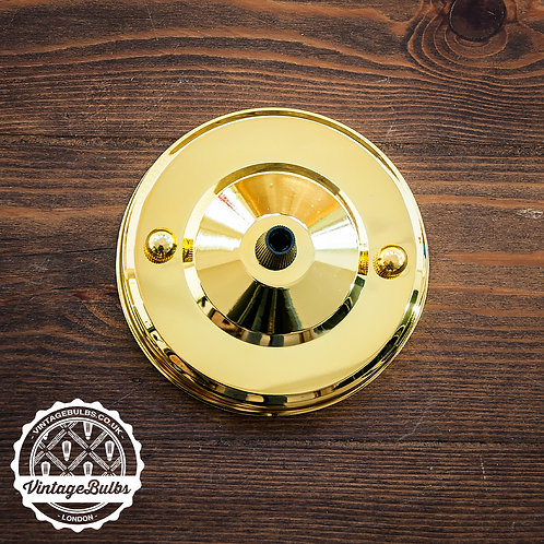 Metal Ceiling Rose #02 - Brass
