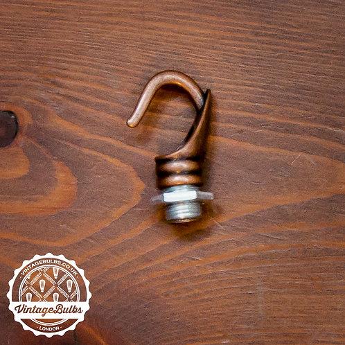 Ceiling Rose Chandelier Hook - Antique Copper