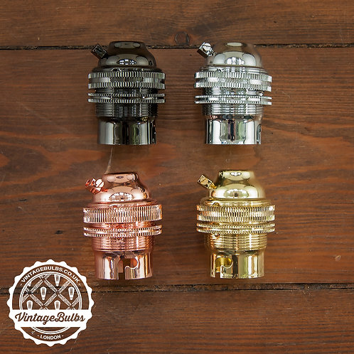 Metal Lamp Holder (B22)