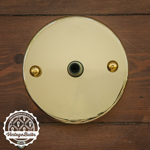 Metal Ceiling Rose #01 - Brass
