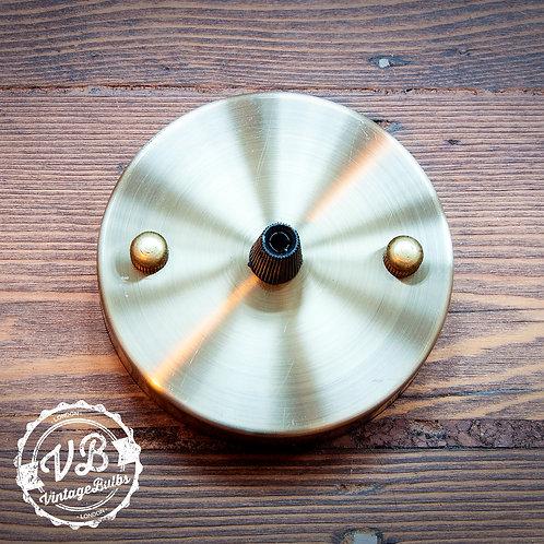 Metal Ceiling Rose #01 - Antique Brass