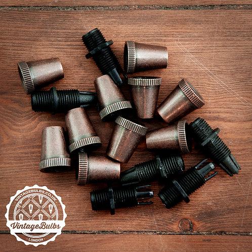 Metal Cord Grips #01 - Antique Matte Copper