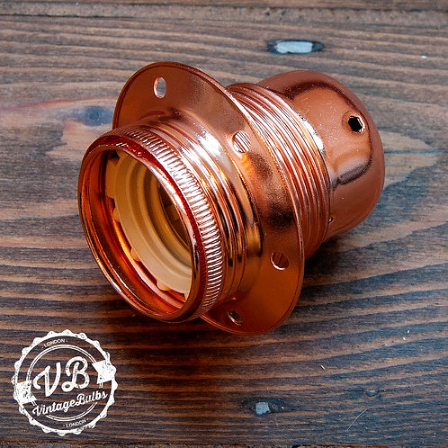 Metal Lamp Holder #01 (E27) - Copper
