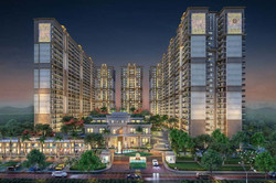 Project elevation of Medallion mohali