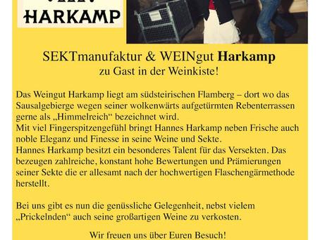 Dezember '15 – Weinverkostung Weingut Harkamp
