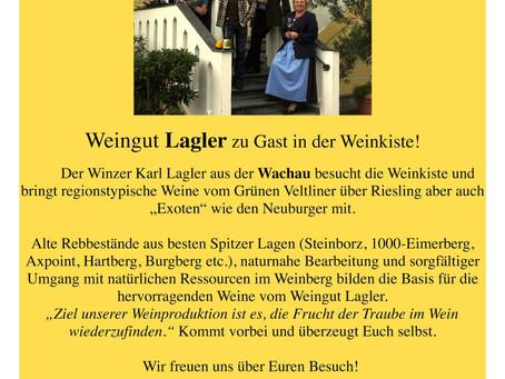 August '15 Weinverkostung Weingut Lagler