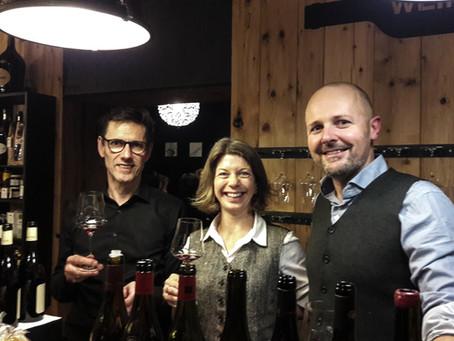 23. November 2017 – Pinot Noir Verkostung