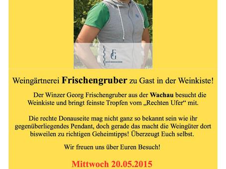 Mai '15 Weinverkostung Georg Frischengruber