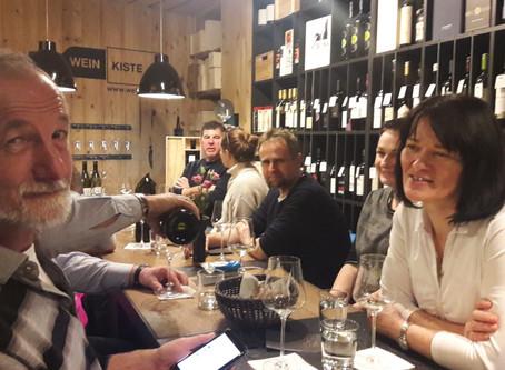 14. Februar 2019 – Weinverkostung Weingut Netzl