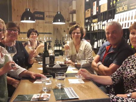 5. Juli 2018 – Weinverkostung Weingut Schlögl