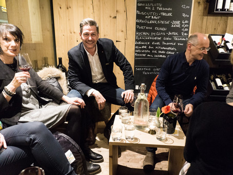 16. Februar 2017 – Weinverkostung Claus Preisinger