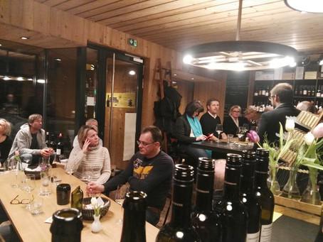 22. Februar 2018 – Weinverkostung Weingut Frauwallner