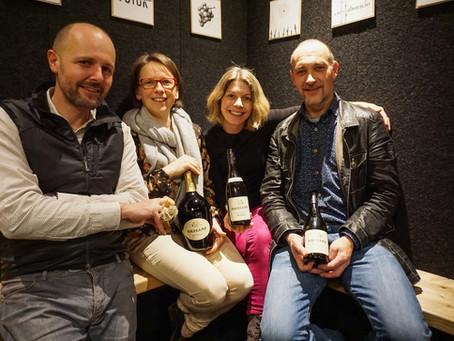 Dezember '16 – Weinverkostung Sektmanufaktur Harkamp