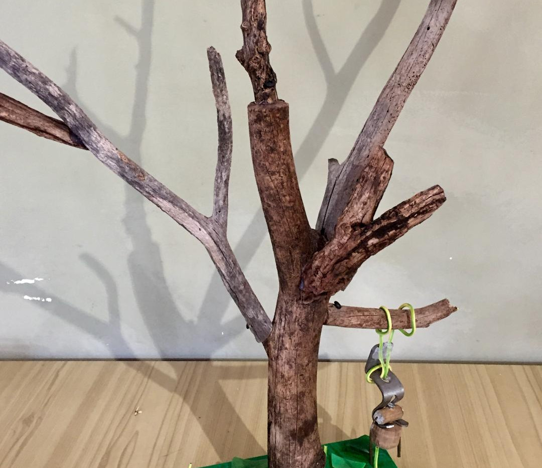 Tree with Playing Person