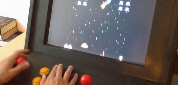 Retro Gaming Console in MDF