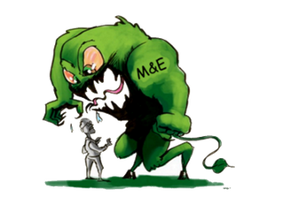 Afraid of the Monitoring and Evaluation (M&E) Monster? No need to be!