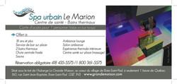 Spa Urbain Le Marion