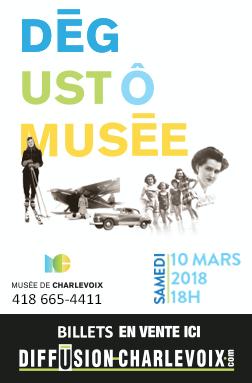 Musée de Charlevoix - Affiche