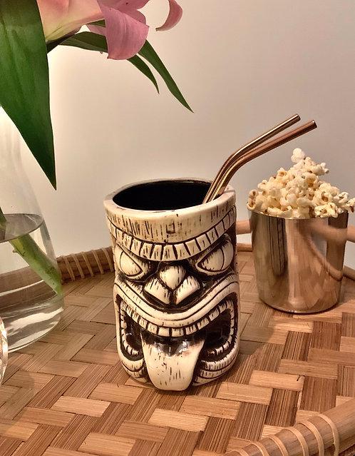 RAYMOND Tiki Ceramic Mug