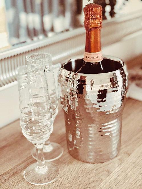 Hammered Champagne Cooler