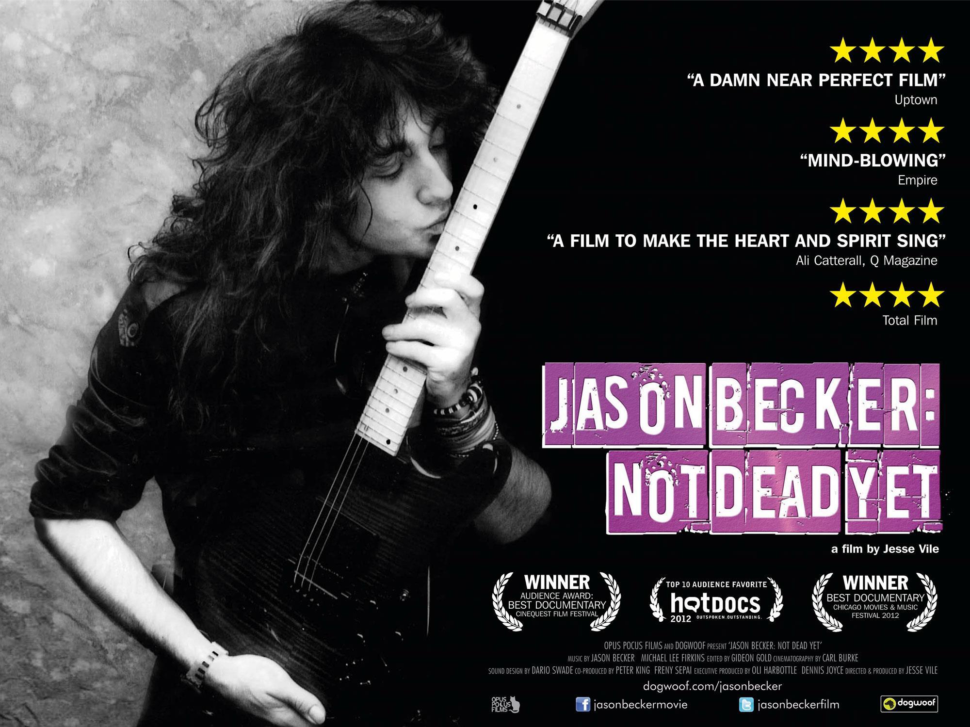 NOT DEAD YET FILM POSTER UK