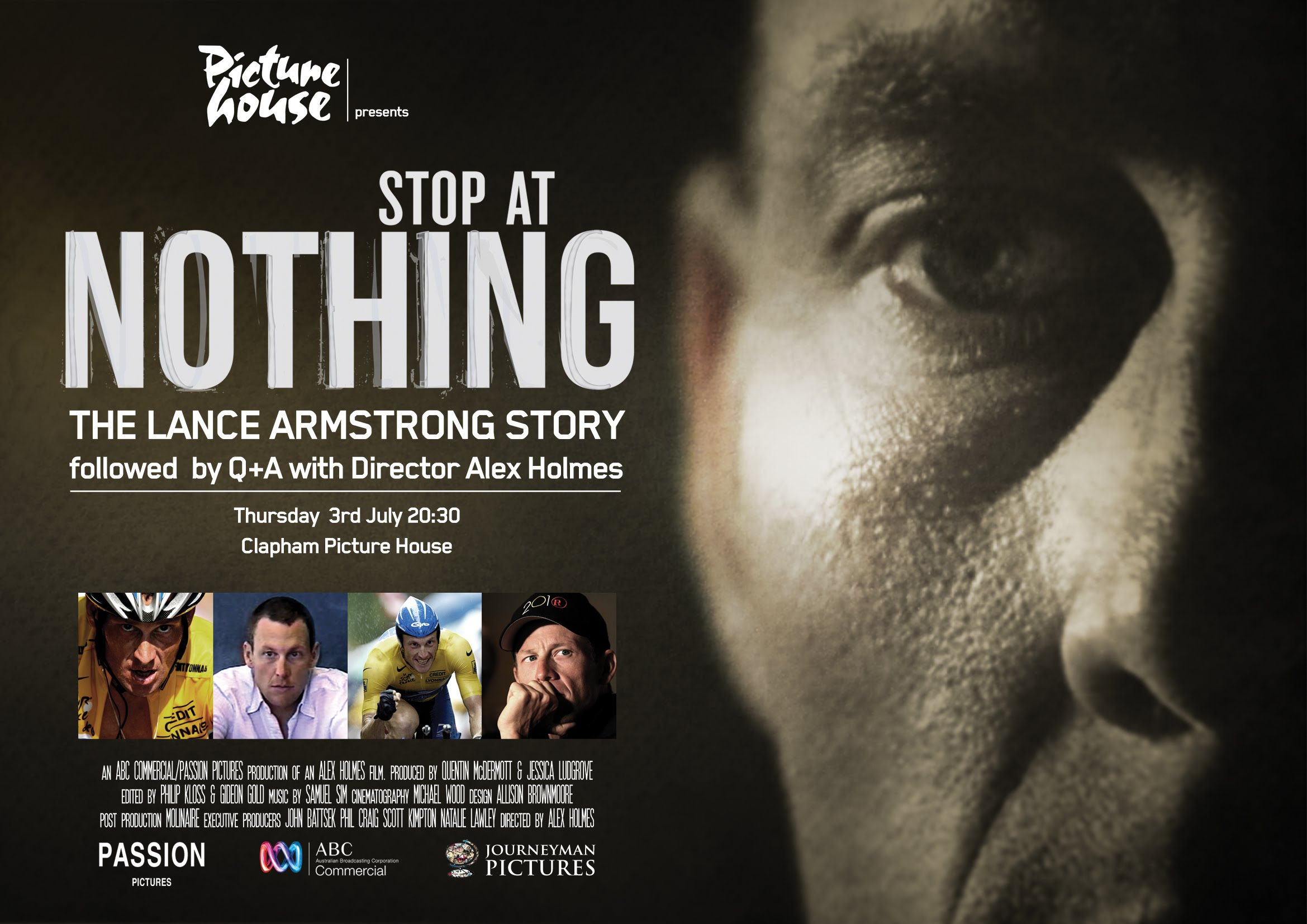 STOP AT NOTHING POSTER