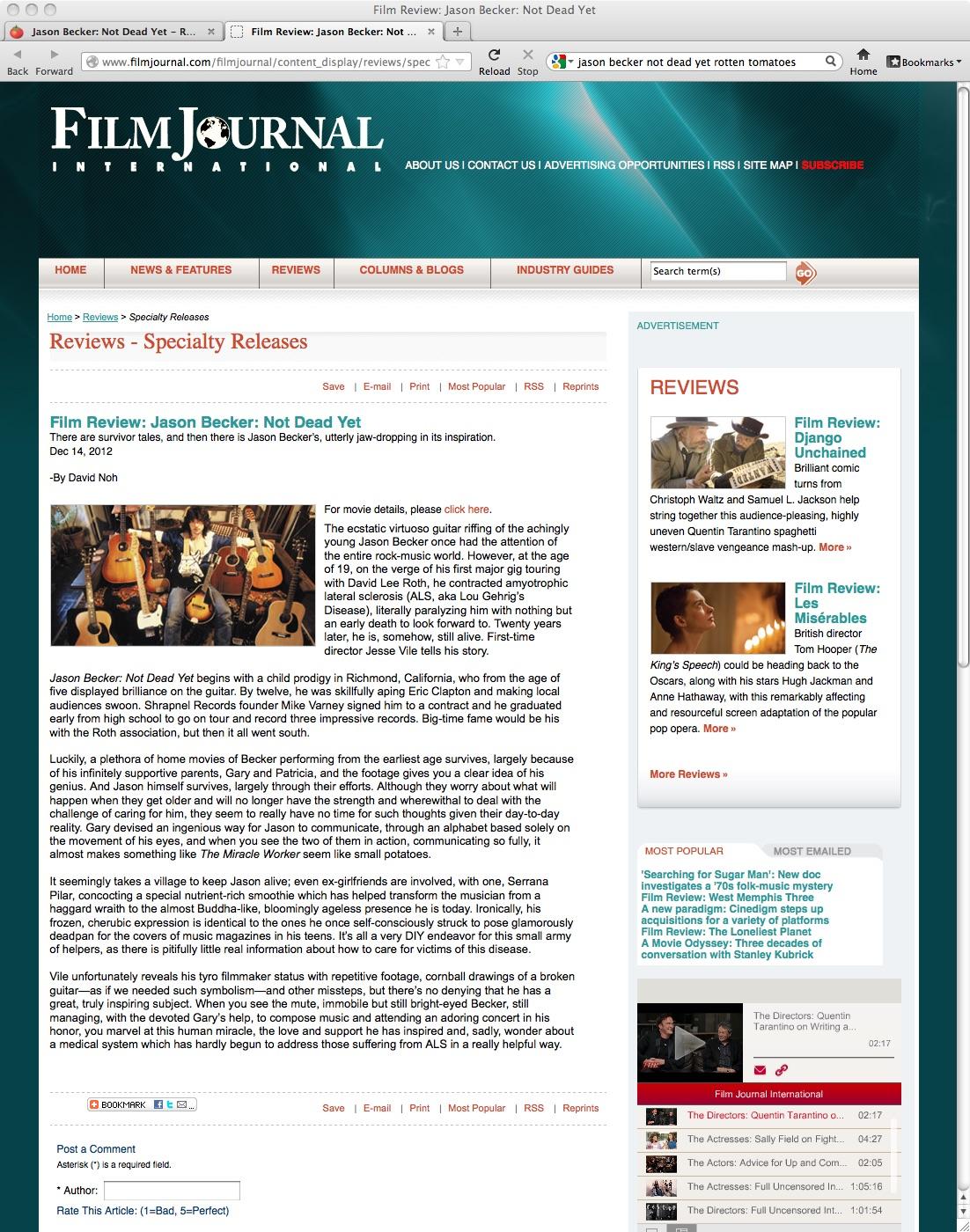 NOT DEAD YET_FILM JOURNAL INTERNATIONAL