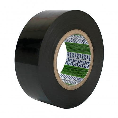 Black Low Tack Protection Tape