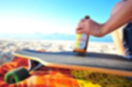 Trópica e longboard