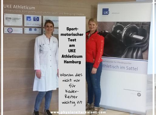 Spezialsprechstunde für Pferdesportler am UKE Athleticum Hamburg