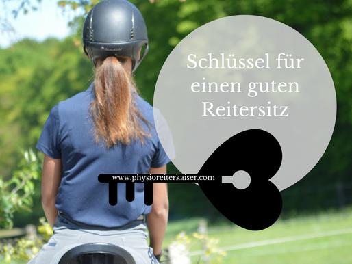 Der Schlüssel zu einem guten Reitersitz – das Kiefergelenk.