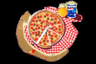 Pizza & Pepsi