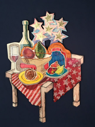 Table Set with Stars
