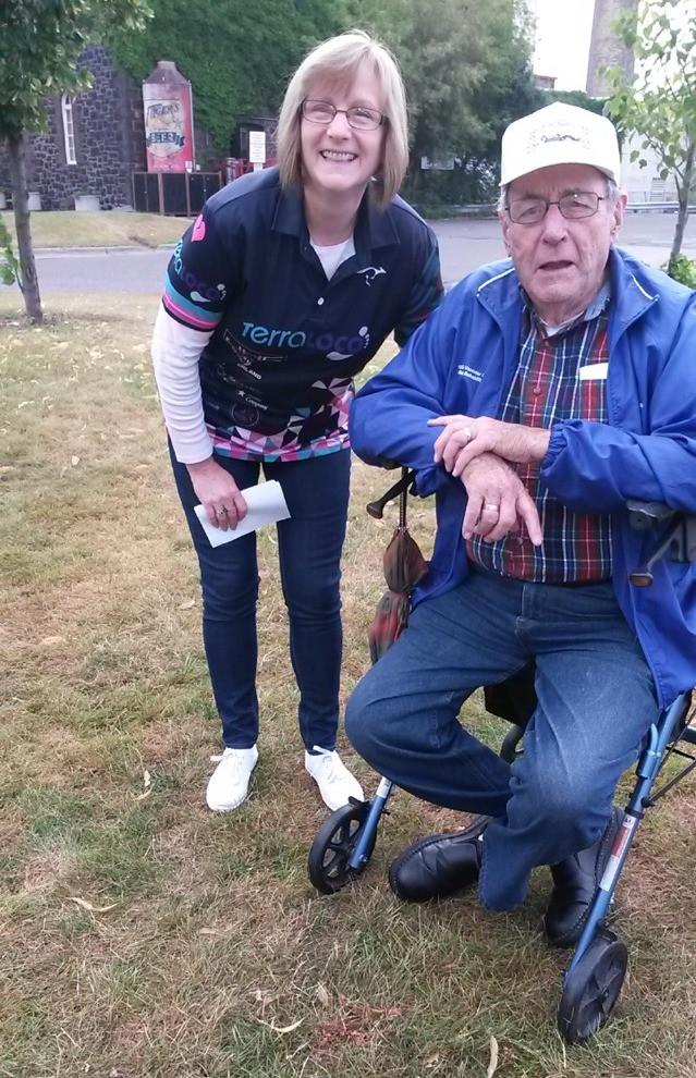 My 88 year grandpa was the best fan!