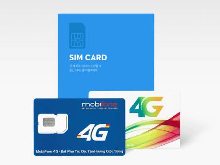 베트남 현지 유심(UISM)구매 방법 및 베트남 통신사